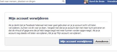 mijn facebook account