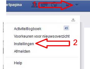 facebook deactiveren